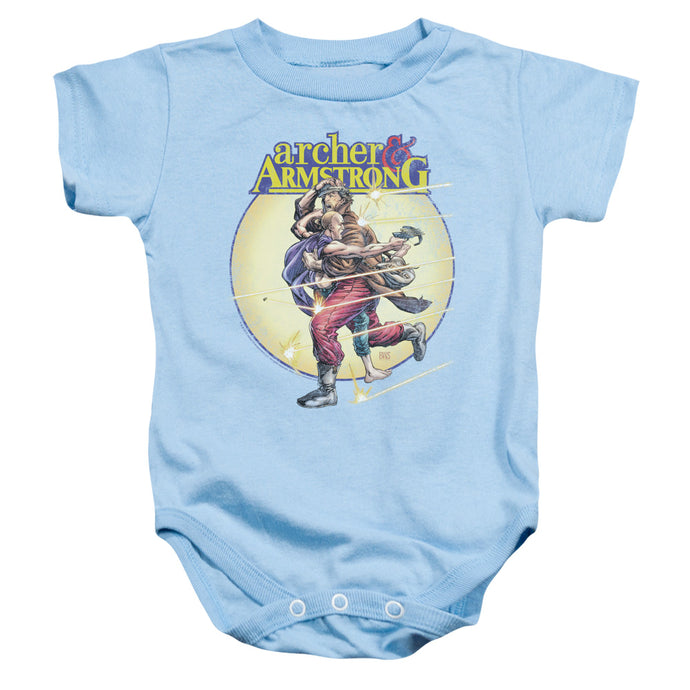 Archer & Armstrong - Vintage A & A Infant Snapsuit - Special Holiday Gift