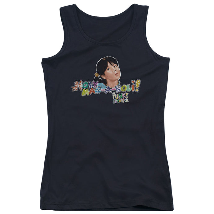 Punky Brewster - Holy Mac A Noli Juniors Tank Top - Special Holiday Gift
