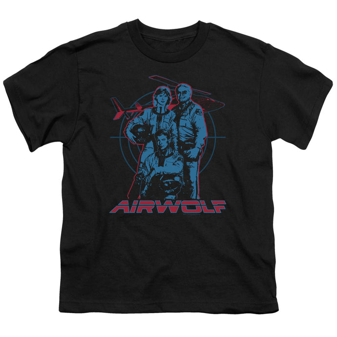 Airwolf - Graphic Short Sleeve Youth 18/1 Tee - Special Holiday Gift