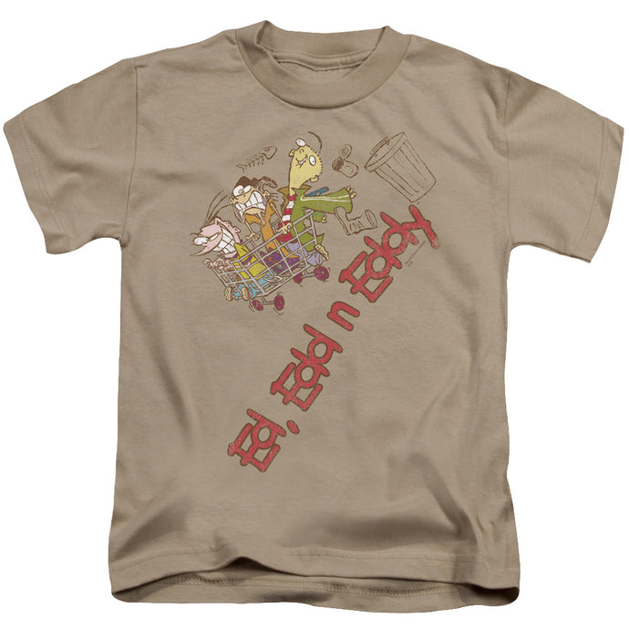 Ed Edd N Eddy - Downhill Short Sleeve Juvenile 18/1 Tee - Special Holiday Gift