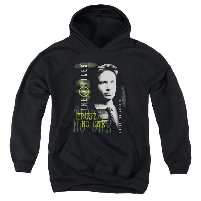X Files - Mulder Youth Pull Over Hoodie - Special Holiday Gift