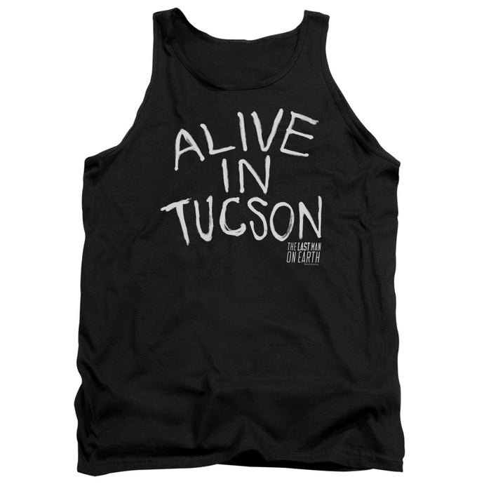 Last Man On Earth - Alive In Tucson Adult Tank - Special Holiday Gift
