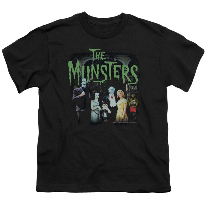 The Munsters - 1313 50 Years Short Sleeve Youth 18/1 Tee - Special Holiday Gift