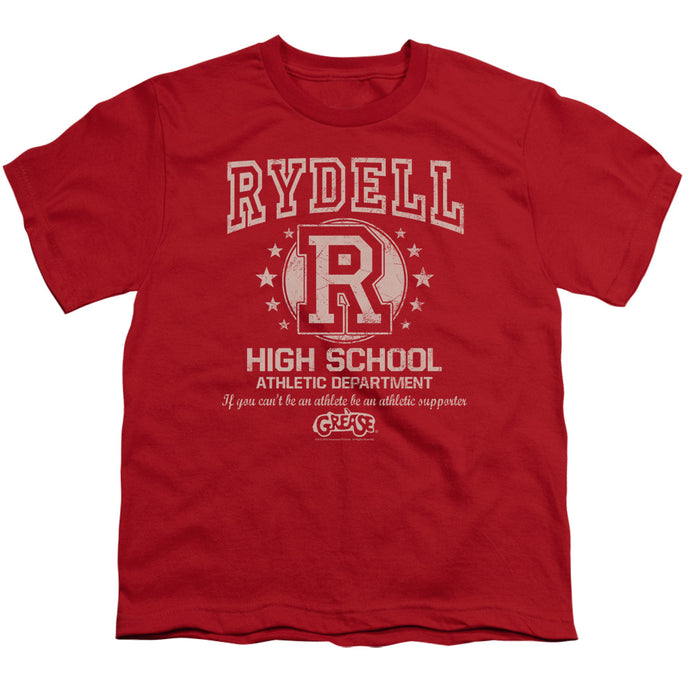 Grease - Rydell High Short Sleeve Youth 18/1 Tee - Special Holiday Gift