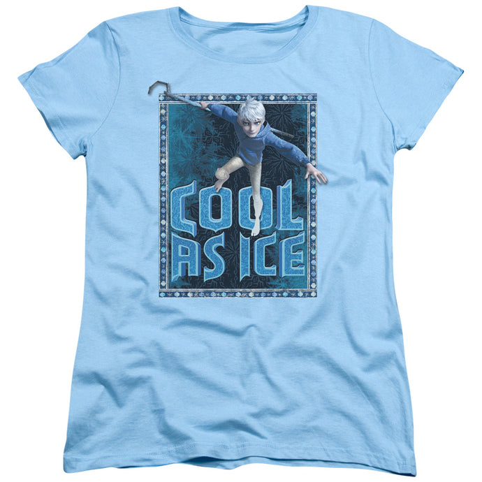 Rise Of The Guardians - Jack Frost Short Sleeve Women's Tee - Special Holiday Gift
