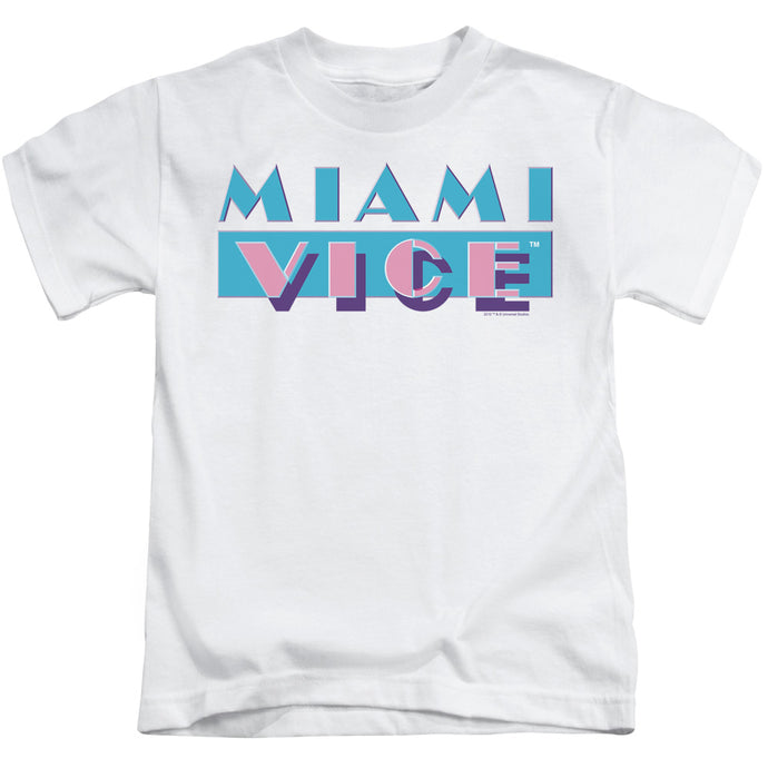 Miami Vice - Logo Short Sleeve Juvenile 18/1 Tee - Special Holiday Gift
