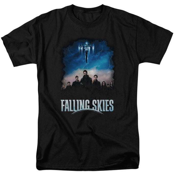 Falling Skies - Main Players Short Sleeve Adult 18/1 Tee - Special Holiday Gift