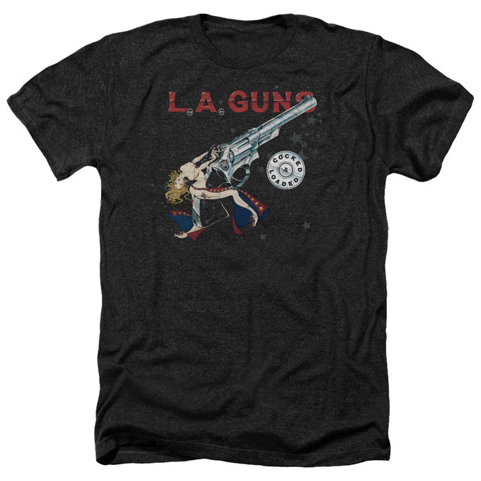 La Guns - Cocked And Loaded Adult Heather - Special Holiday Gift