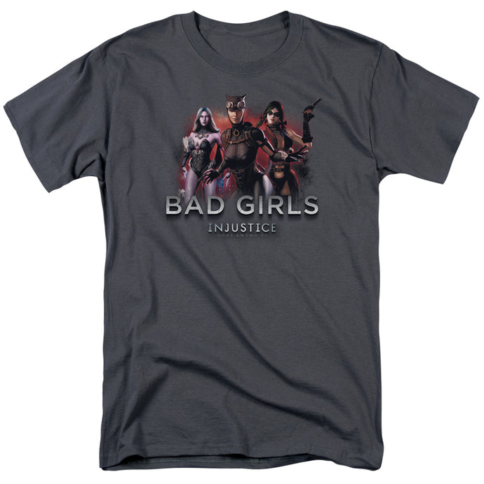 Injustice Gods Among Us - Bad Girls Short Sleeve Adult 18/1 Tee - Special Holiday Gift