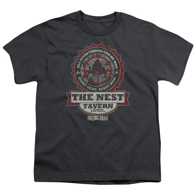 Falling Skies - The Next Short Sleeve Youth 18/1 Tee - Special Holiday Gift