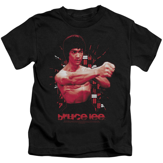 Bruce Lee - The Shattering Fist Short Sleeve Juvenile 18/1 Tee - Special Holiday Gift