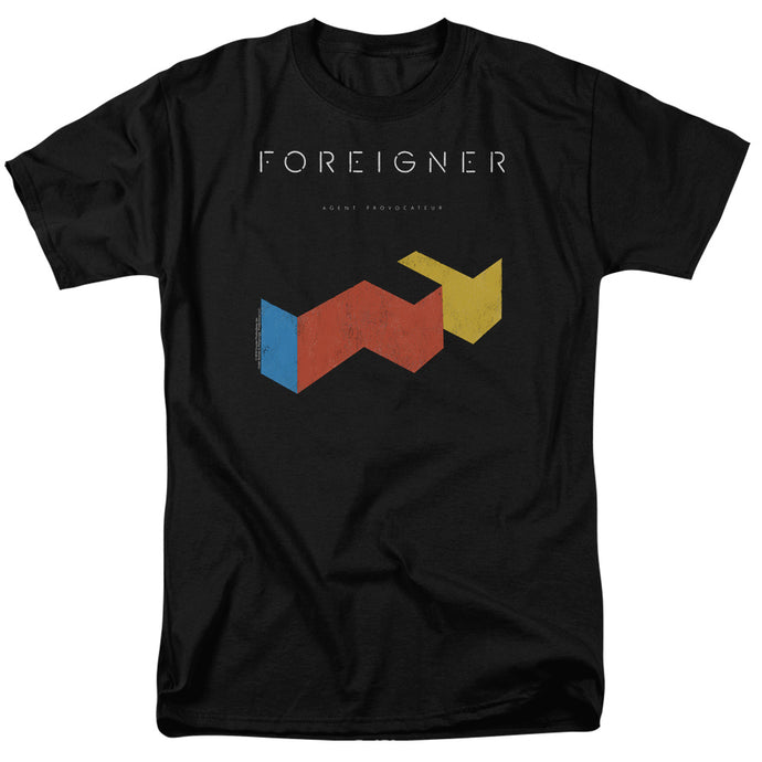 Foreigner - Agent Provocateur Short Sleeve Adult 18/1 Tee - Special Holiday Gift