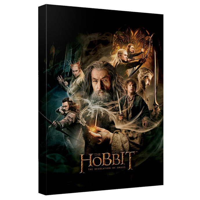 The Hobbit - Smaug Poster Canvas Wall Art With Back Board - Special Holiday Gift