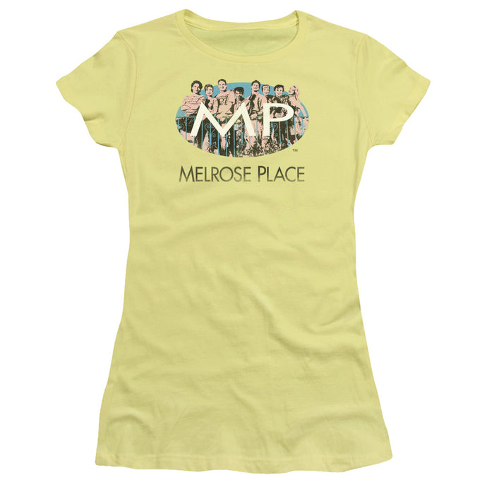 Melrose Place - Meet At The Place Short Sleeve Junior Sheer - Special Holiday Gift