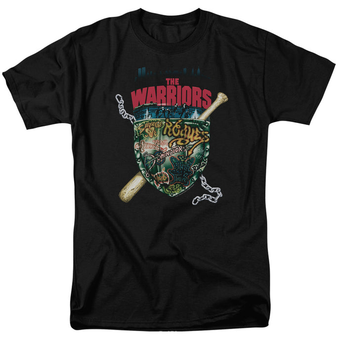 Warriors - Shield Short Sleeve Adult 18/1 Tee - Special Holiday Gift