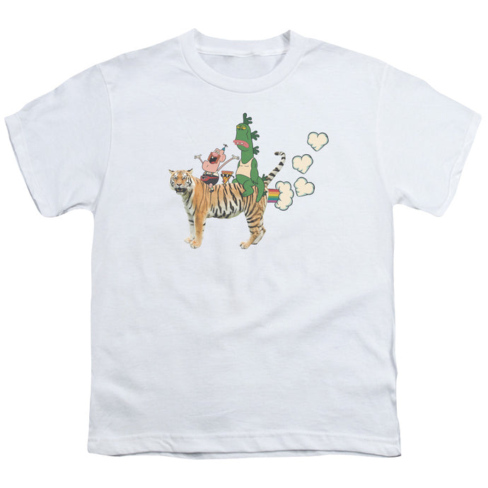 Uncle Grandpa - Fart Hearts Short Sleeve Youth 18/1 Tee - Special Holiday Gift