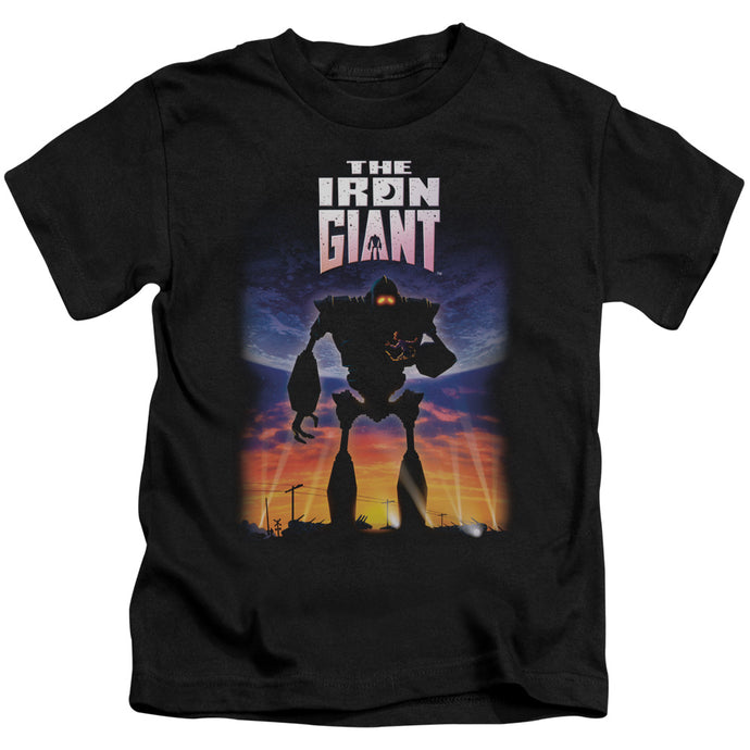 Iron Giant - Poster Short Sleeve Juvenile 18/1 Tee - Special Holiday Gift