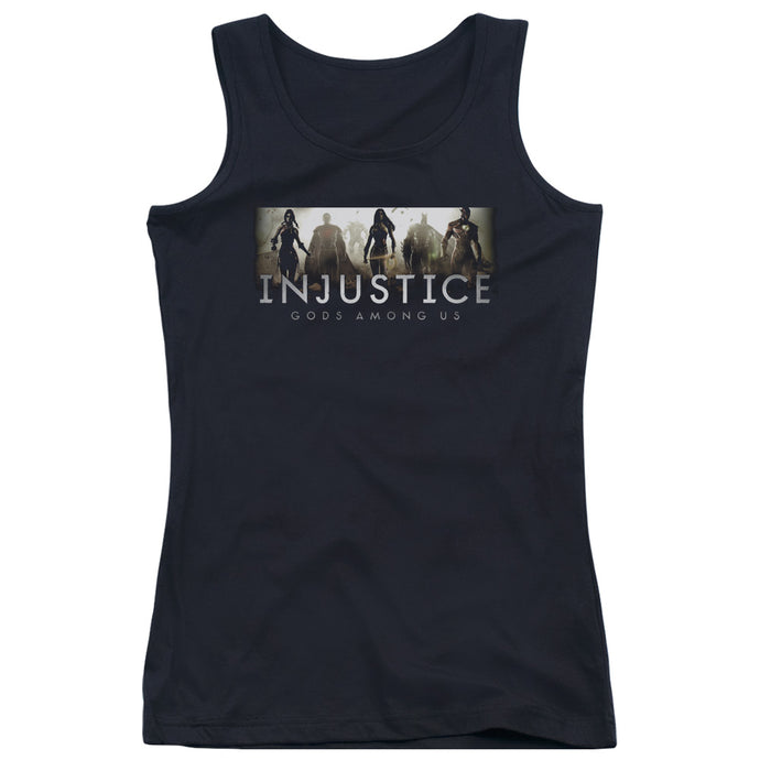 Injustice Gods Among Us - Logo Juniors Tank Top - Special Holiday Gift