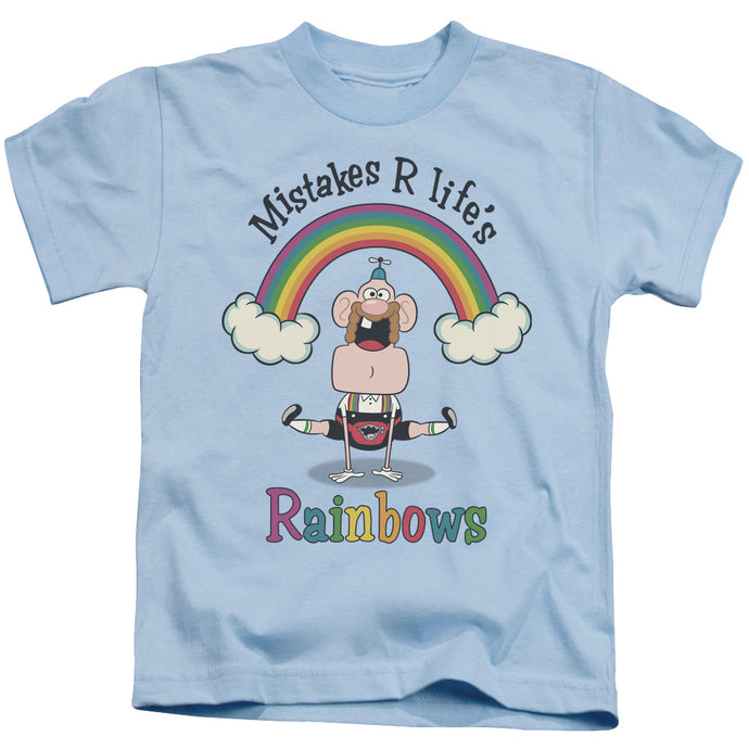 Uncle Grandpa - Life's Rainbows Short Sleeve Juvenile 18/1 Tee - Special Holiday Gift