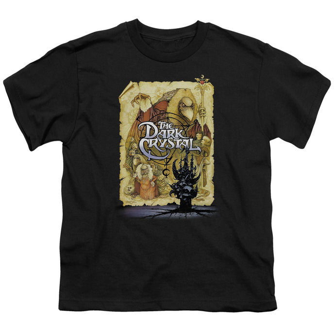 Dark Crystal - Poster Short Sleeve Youth 18/1 Tee - Special Holiday Gift