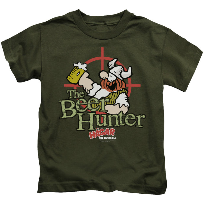 Hagar The Horrible - Beer Hunter Short Sleeve Juvenile 18/1 Tee - Special Holiday Gift