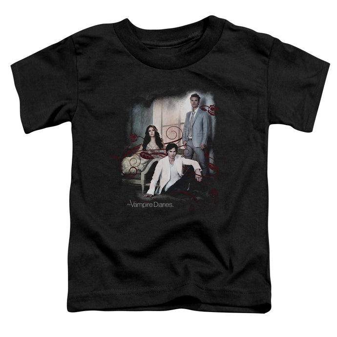 Vampire Diaries - 3 + 1 Short Sleeve Toddler Tee - Special Holiday Gift