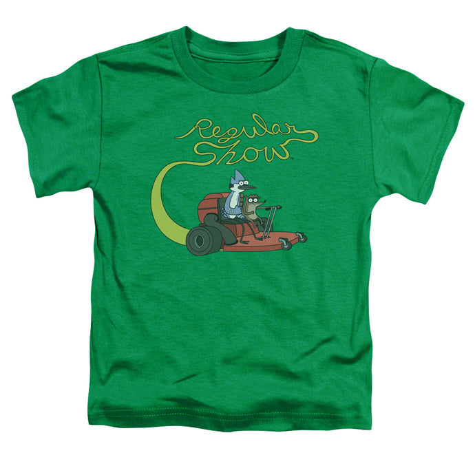 Regular Show - Mower Short Sleeve Toddler Tee - Special Holiday Gift