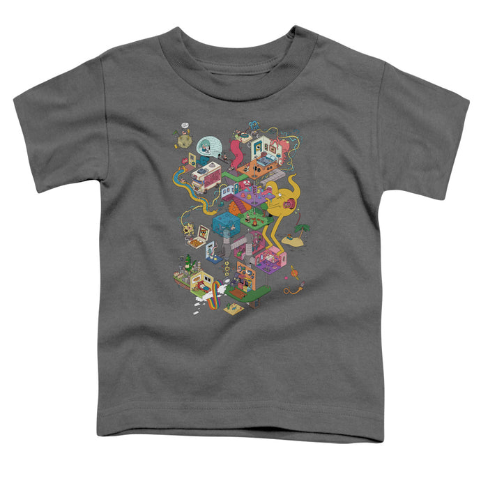 Uncle Grandpa - Inside The Rv Short Sleeve Toddler Tee - Special Holiday Gift