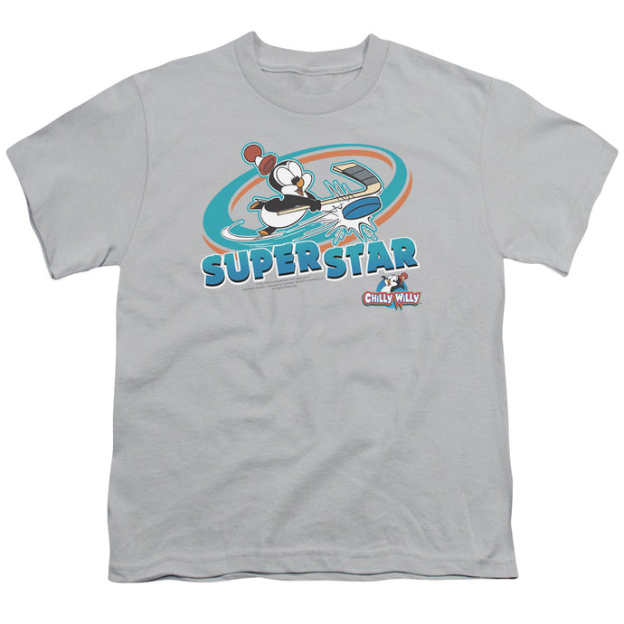 Chilly Willy - Slap Shot Short Sleeve Youth 18/1 Tee - Special Holiday Gift