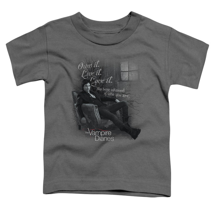Vampire Diaries - Be Yourself Short Sleeve Toddler Tee - Special Holiday Gift