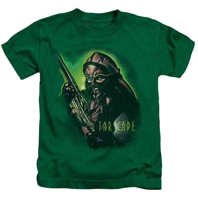 Farscape - D'argo Warrior Short Sleeve Juvenile 18/1 Tee - Special Holiday Gift