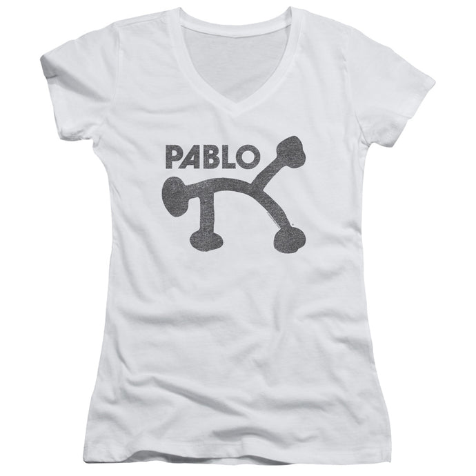 Pablo - Retro Pablo Junior V Neck Tee - Special Holiday Gift