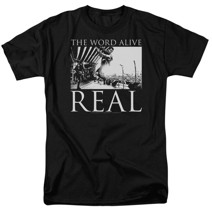 The Word Alive - Live Shot Short Sleeve Adult 18/1 Tee - Special Holiday Gift