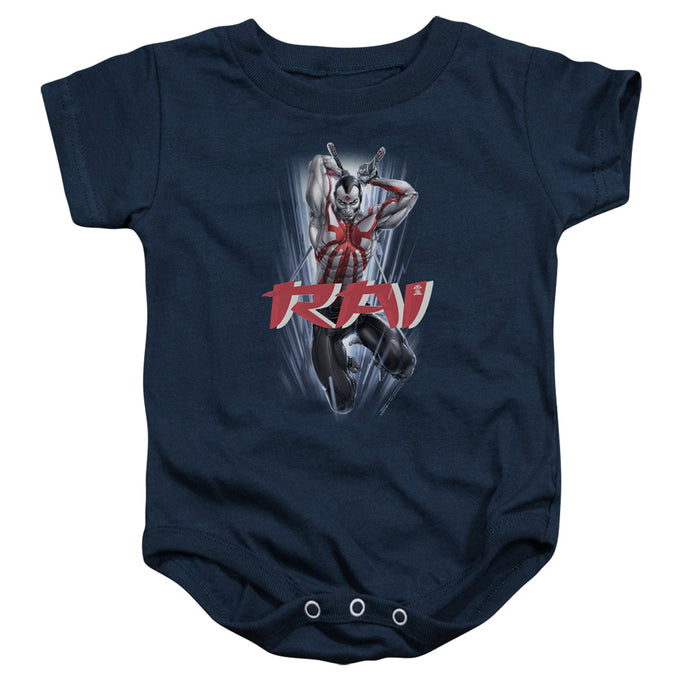 Rai - Leap And Slice Infant Snapsuit - Special Holiday Gift