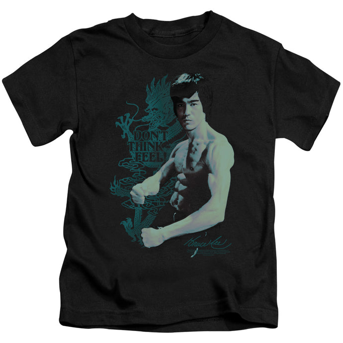 Bruce Lee - Feel Short Sleeve Juvenile 18/1 Tee - Special Holiday Gift