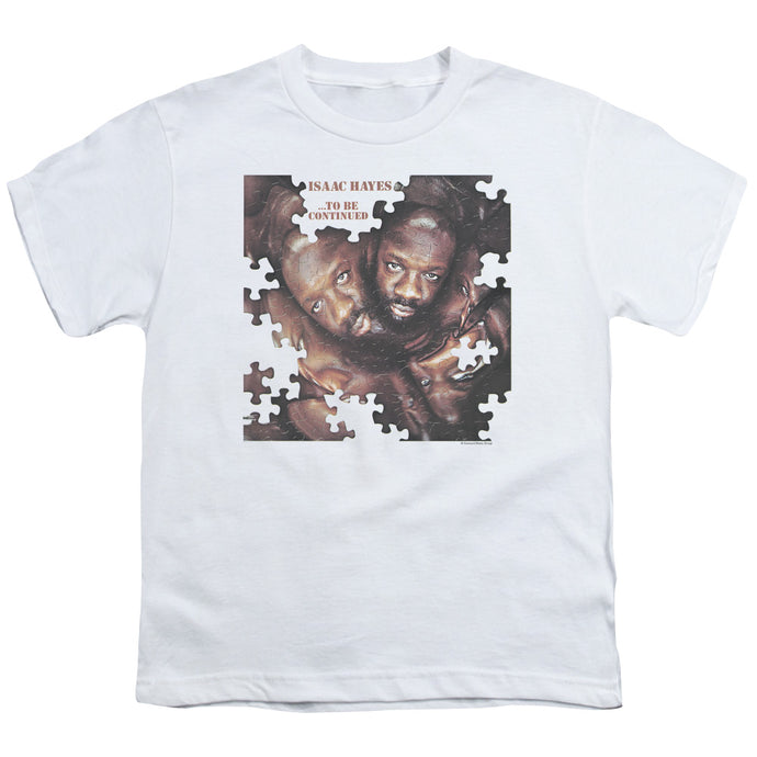 Isaac Hayes - To Be Continued Short Sleeve Youth 18/1 Tee - Special Holiday Gift