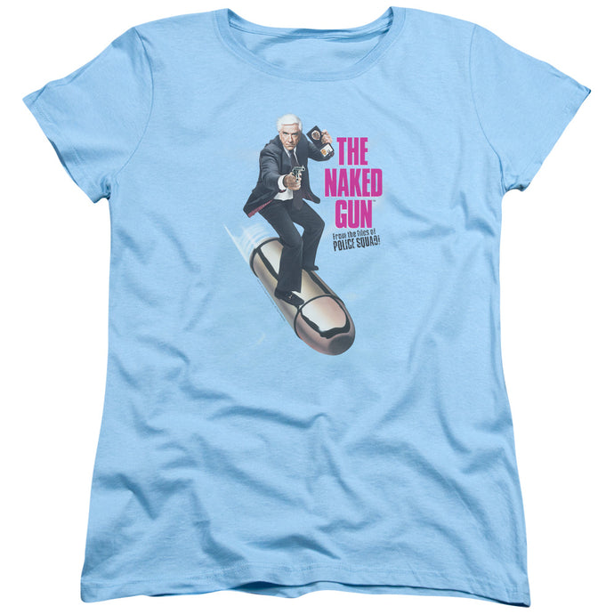 Naked Gun - Bullet Short Sleeve Women's Tee - Special Holiday Gift