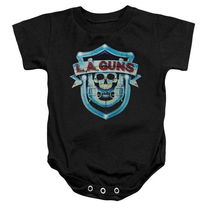 La Guns - La Guns Shield Infant Snapsuit - Special Holiday Gift
