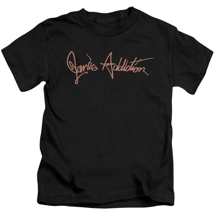 Janes Addiction - Script Logo Short Sleeve Juvenile 18/1 Tee - Special Holiday Gift