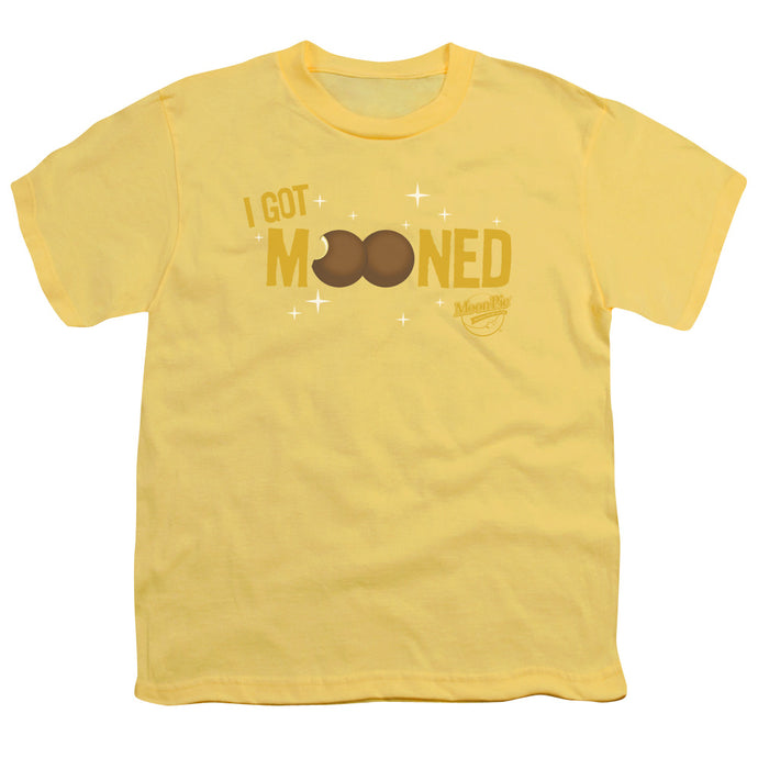 Moon Pie - I Got Mooned Short Sleeve Youth 18/1 Tee - Special Holiday Gift