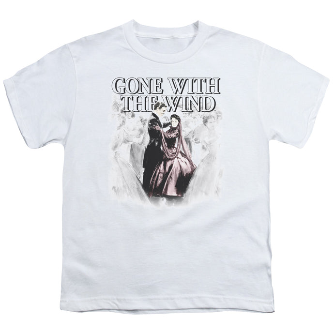 Gone With The Wind - Dancers Short Sleeve Youth 18/1 Tee - Special Holiday Gift
