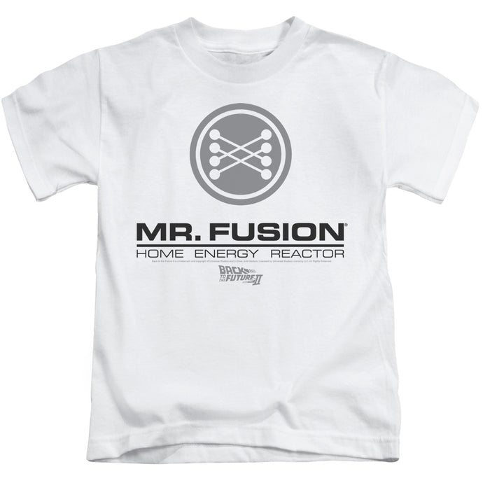 Back To The Future Ii - Mr. Fusion Logo Short Sleeve Juvenile 18/1 Tee - Special Holiday Gift