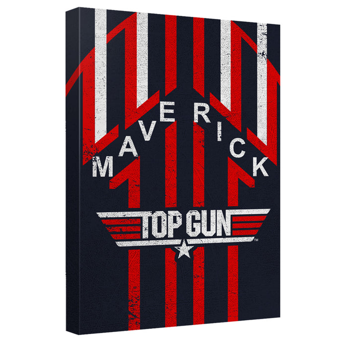 Top Gun - Maverick Canvas Wall Art With Back Board - Special Holiday Gift