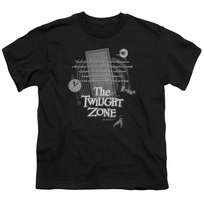 Twilight Zone - Monologue Short Sleeve Youth 18/1 Tee - Special Holiday Gift