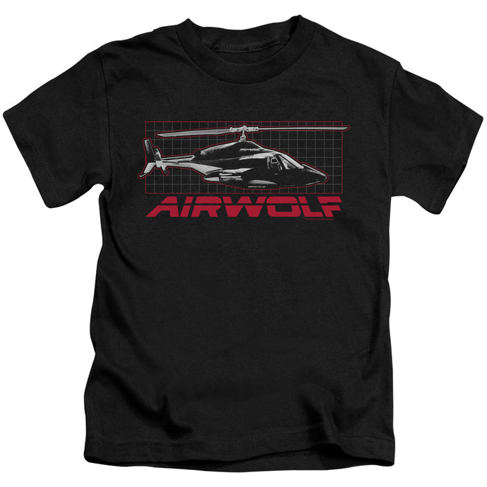 Airwolf - Grid Short Sleeve Juvenile 18/1 Tee - Special Holiday Gift