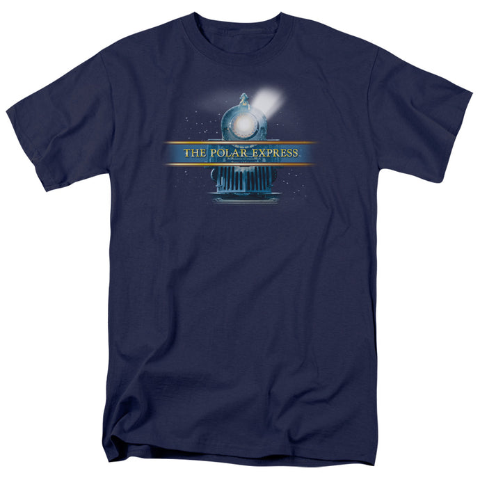 Polar Express - Train Logo Short Sleeve Adult 18/1 Tee - Special Holiday Gift