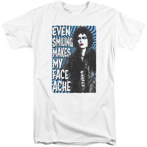Rocky Horror Picture Show - Face Ache Short Sleeve Adult Tall Tee - Special Holiday Gift