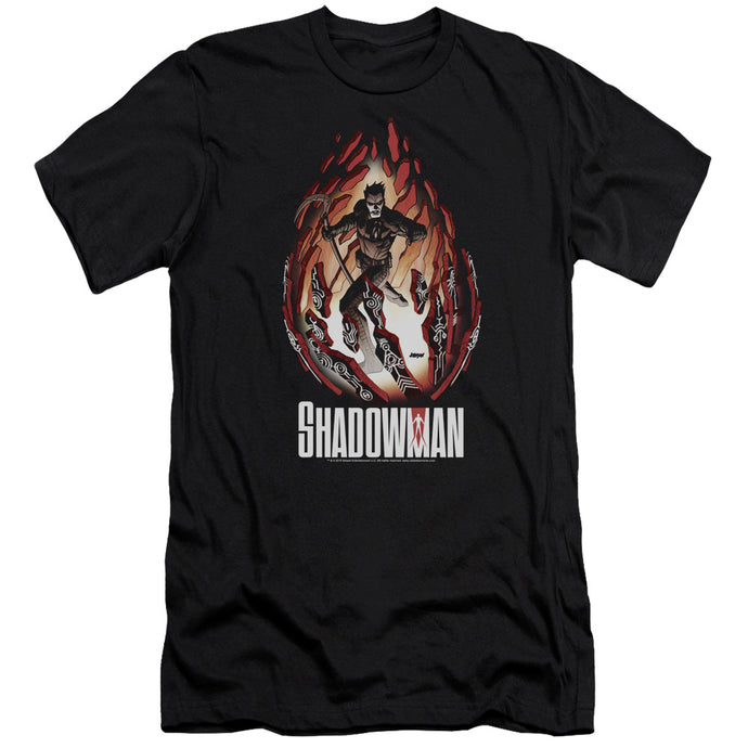 Shadowman - Burst Short Sleeve Adult 30/1 Tee - Special Holiday Gift