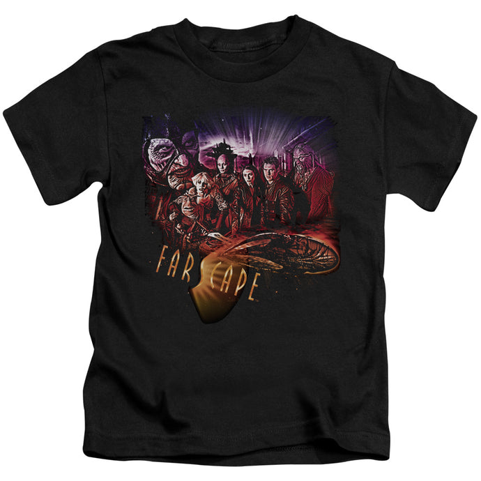 Farscape - Graphic Collage Short Sleeve Juvenile 18/1 Tee - Special Holiday Gift