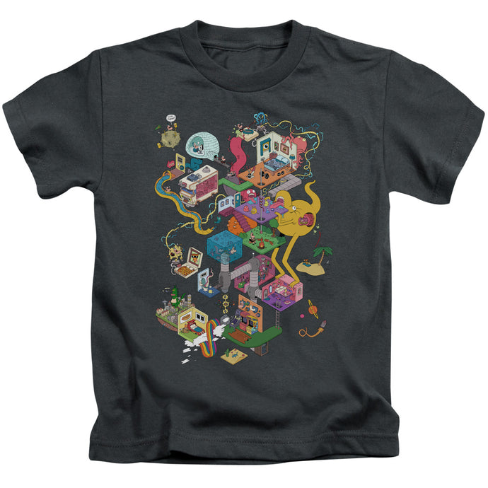 Uncle Grandpa - Inside The Rv Short Sleeve Juvenile 18/1 Tee - Special Holiday Gift